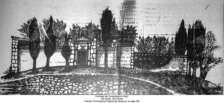 Fachada del Cemeneterio Viejo
