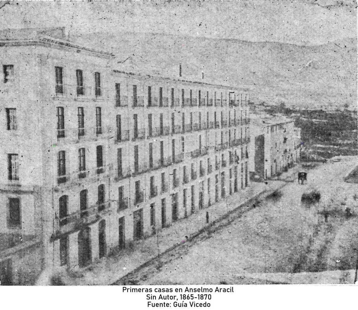 Primeras casas en Anselmo Aracil