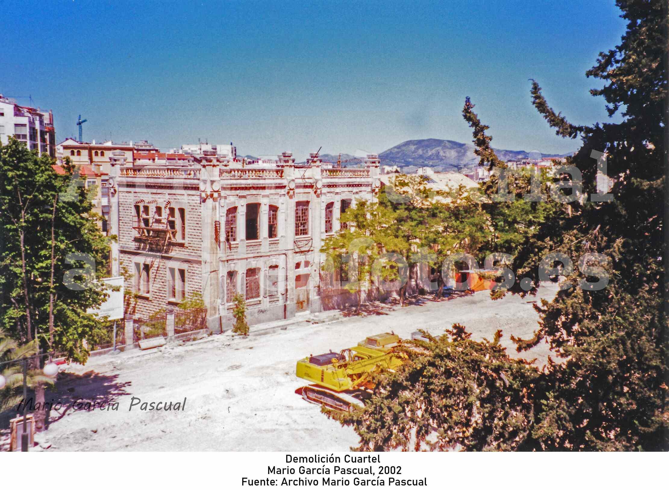 Demolición Cuartel