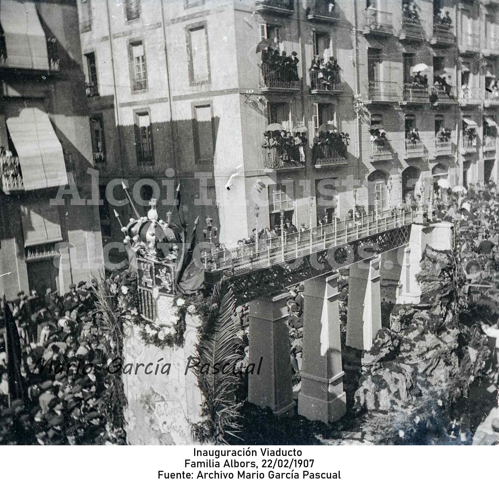 Inauguración Viaducto